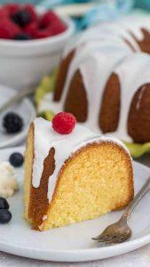 Vanilla Bundt Cake Recipe