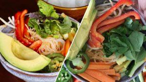 Vegan Spring Roll In A Bowl Recipe