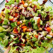 Vegetarian Italian Chopped Salad Recipe