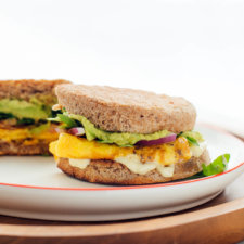 Veggie Breakfast Sandwich Recipe