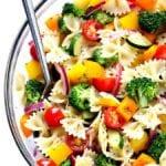 veggie lovers' pasta salad recipe