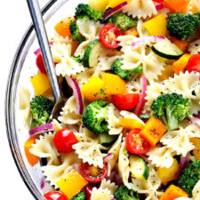 Veggie Lovers' Pasta Salad Recipe