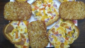 White Bread Pizza Recipe