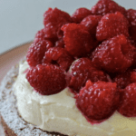 white chocolate chunk & raspberry jam cake recipe