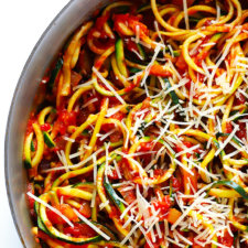 Zoodles Marinara Recipe