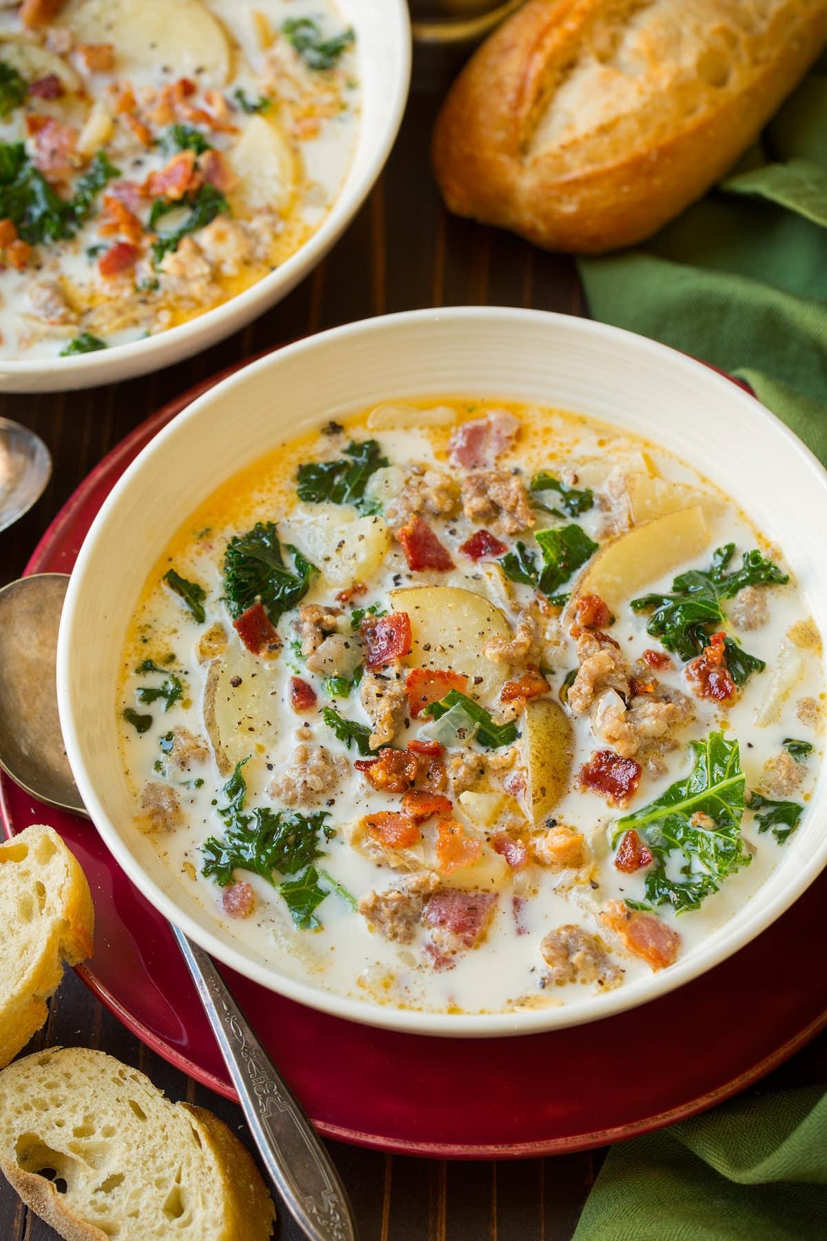 Copycat Olive Garden Zuppa Toscana Soup Recipe