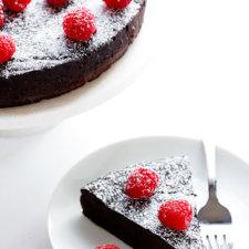 3-ingredient flourless chocolate cake recipe