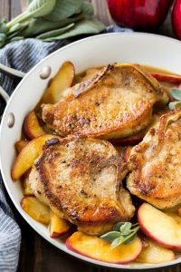 Apple Pork Chops Recipe