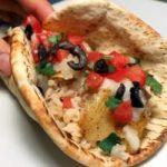 Chicken Pita Tacos with Garlic Paste Recipe