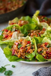 Asian Lentil Lettuce Wraps Recipe