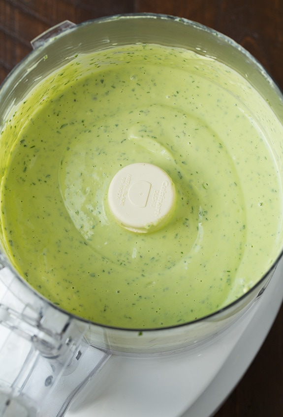 Avocado Ranch Dressing Recipe