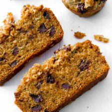 Brown Sugar Streusel on Zucchini Bread Recipe