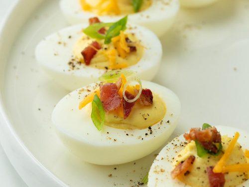 bacon cheddar deviled eggs recipe