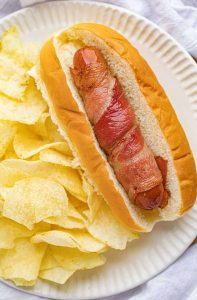 Bacon-Wrapped Hot Dogs Recipe