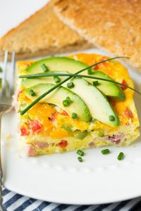 Baked Denver Omelet Recipe