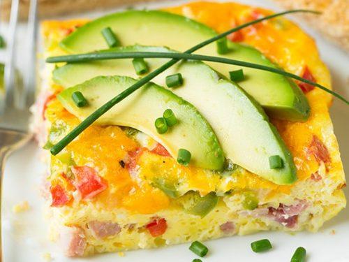baked denver omelet recipe