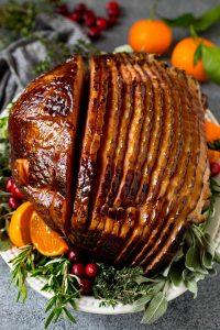 Caramelized Baked Ham Recipe