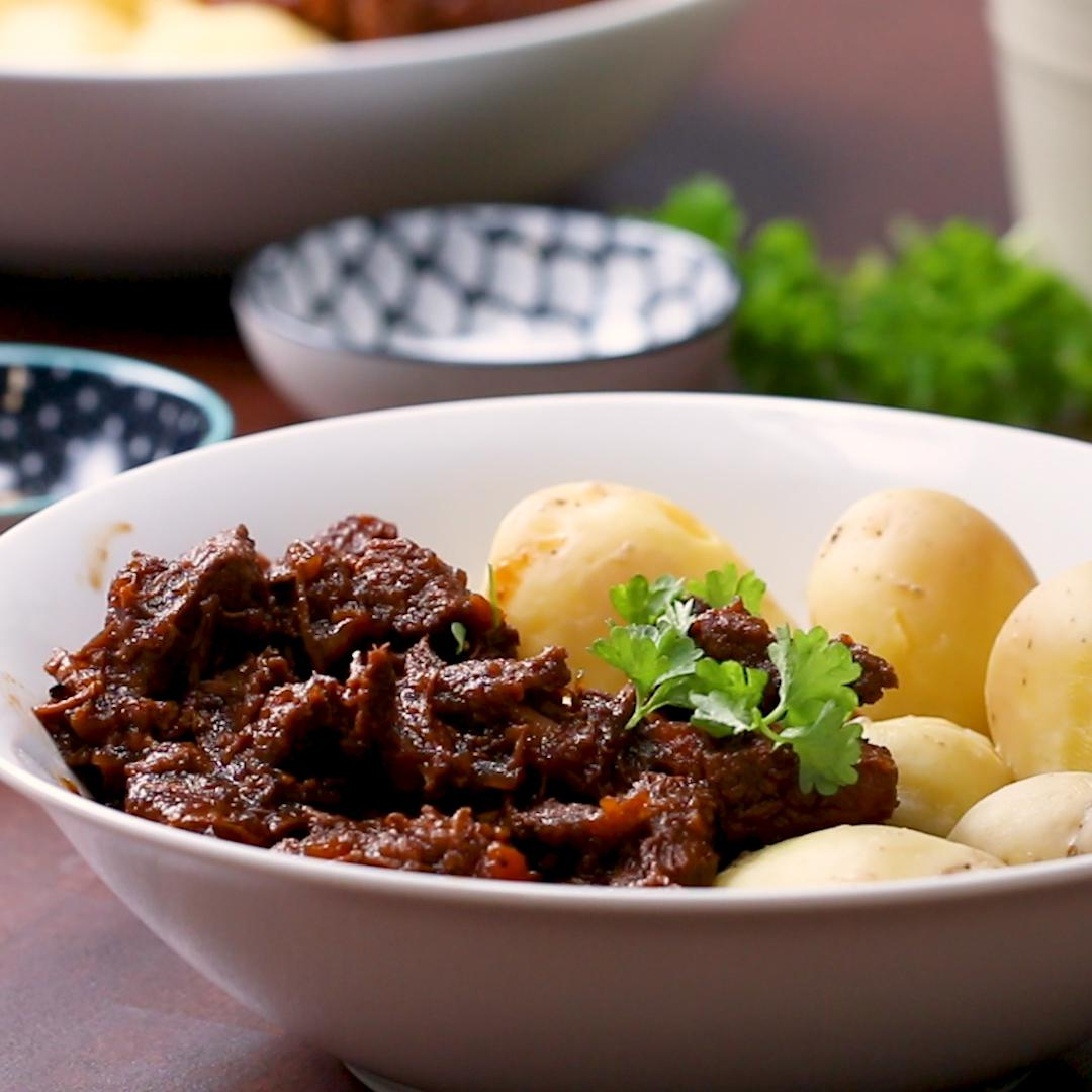 Beef Beer Goulash Recipe