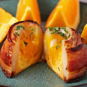 Breakfast Potato Volcanoes Recipe