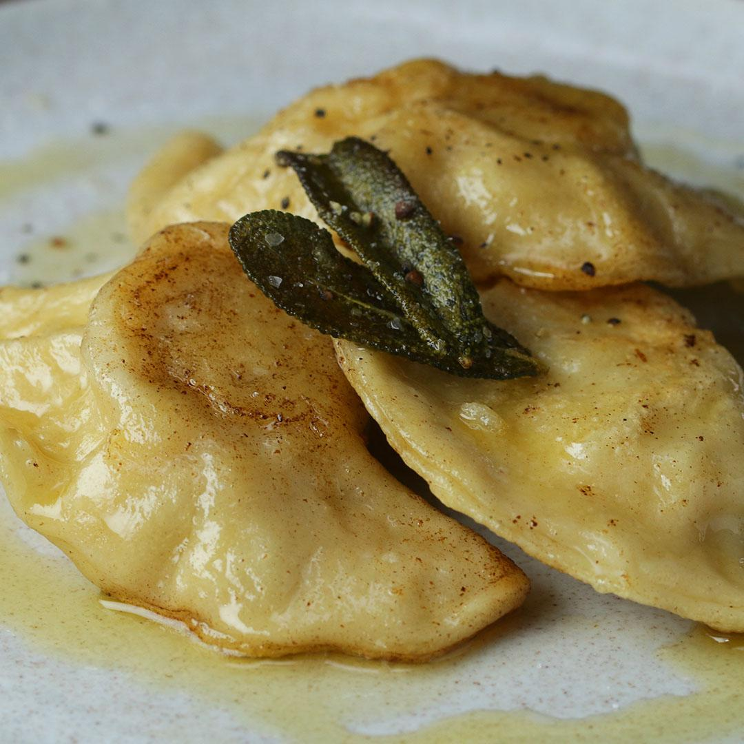 Brown Butter Sage Pierogi Recipe