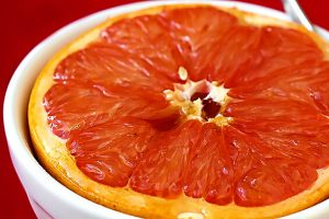 Brown-Sugar Broiled Grapefruit Recipe