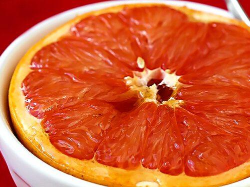 brown-sugar broiled grapefruit recipe