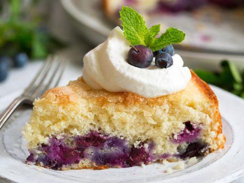 buttermilk blueberry cake recipe