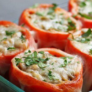 Cheesesteak-Stuffed Peppers Recipe