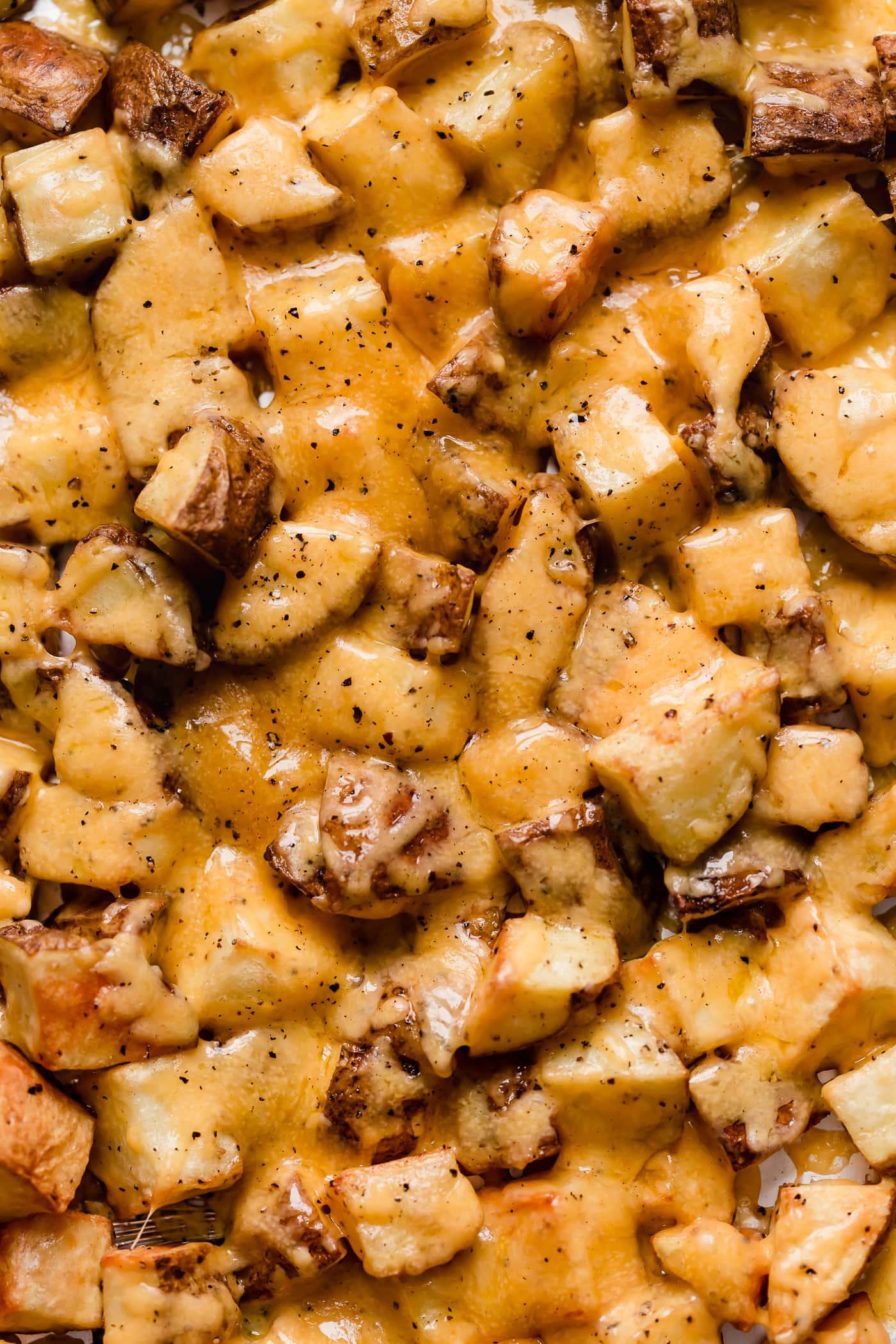 Cheesy Bacon Ranch Roasted Potatoes Recipe