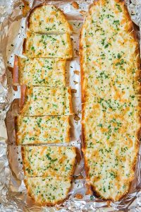 Easy Cheesy Garlic Bread Recipe