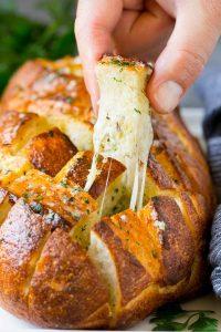 Cheesy Pull Apart Bread Recipe