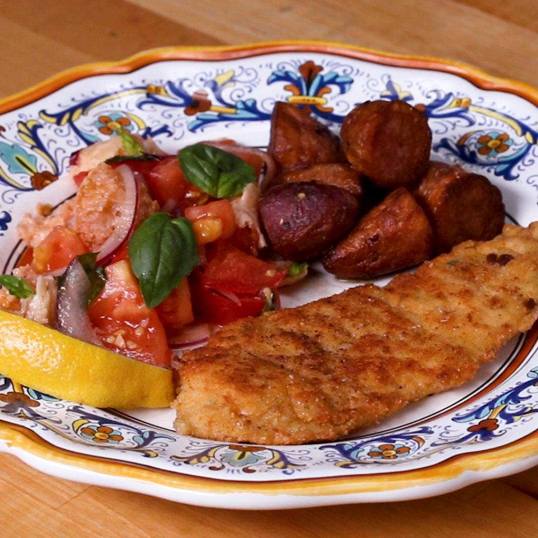 Chicken Cotoletta Recipe
