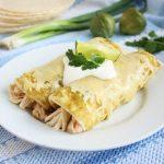 chicken enchiladas with green sauce recipe