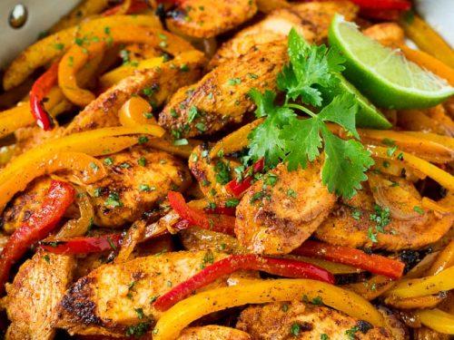chicken fajita marinade recipe