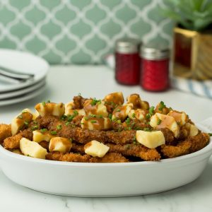 Chicken Fries Poutine Recipe