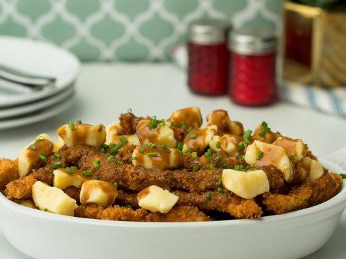 chicken fries poutine recipe