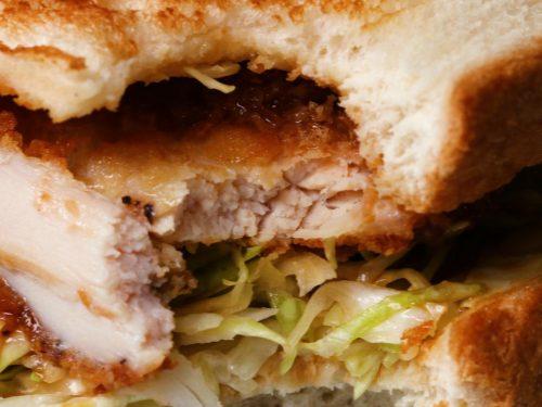 chicken katsu sandwiches as made by hitomi's mom recipe