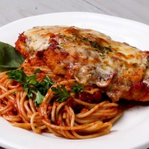 Chicken Parmesan in Tomato Sauce Recipe