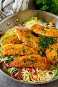 Easy Chicken Scampi Recipe
