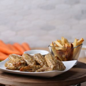Chicken Wings with Blue Cheese Recipe
