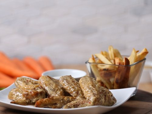 chicken wings: over blue yonder recipe