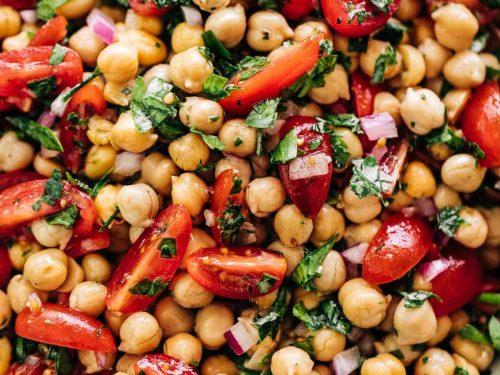 chickpea tomato salad recipe