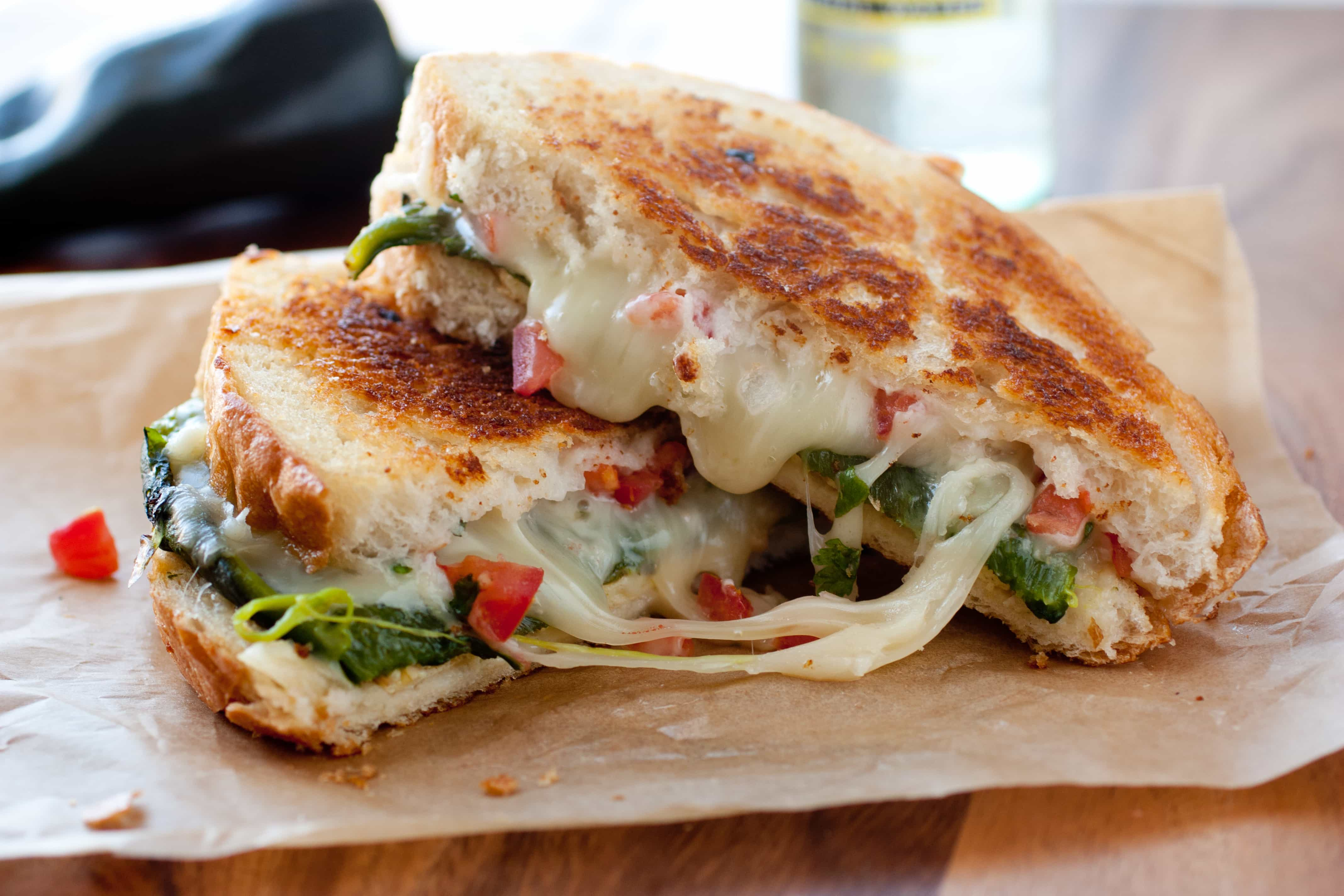 Chile Relleno Grilled Cheese Sandwich Recipe