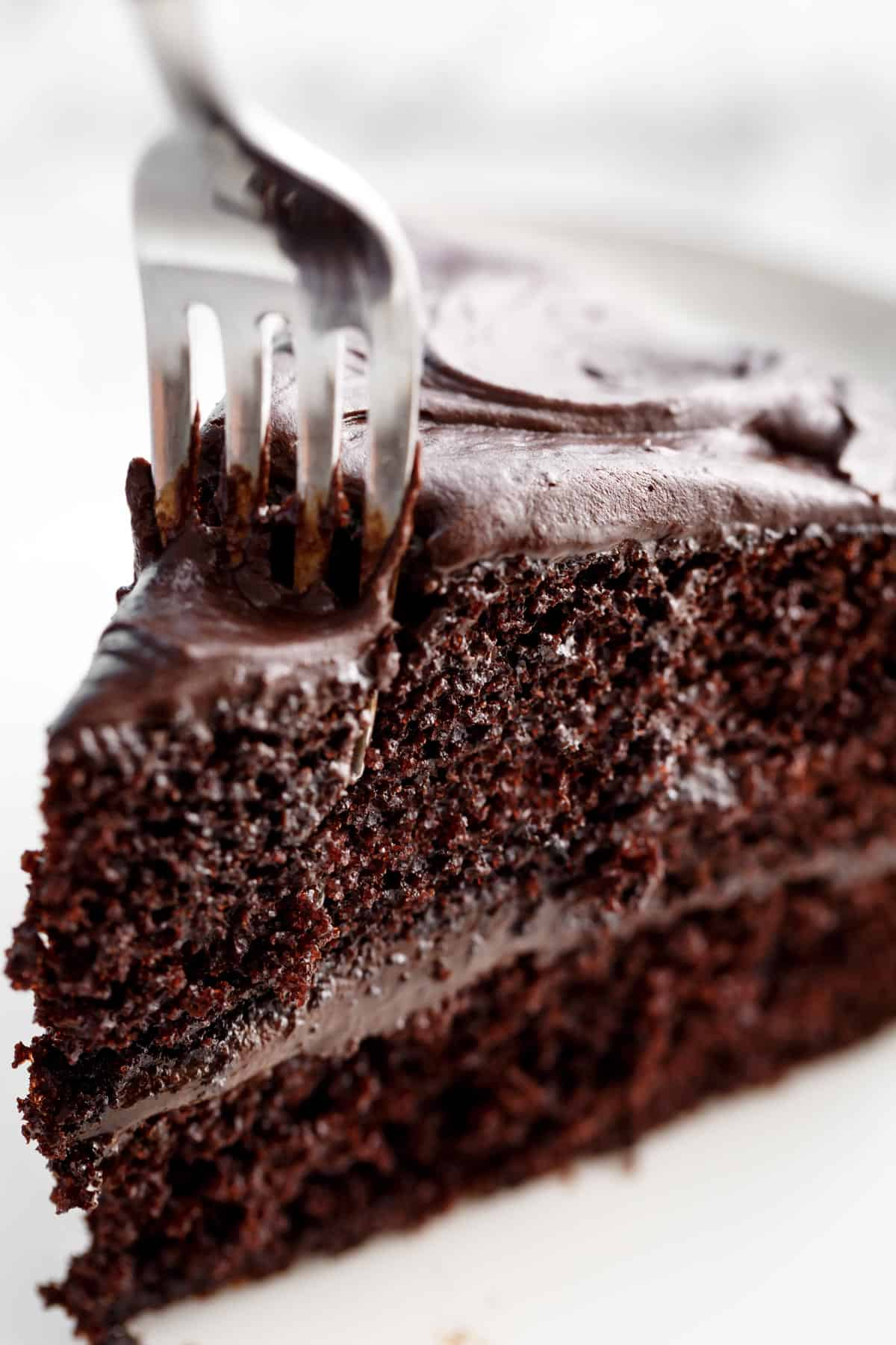 Chocolate Cake (Hershey's Perfectly Chocolate Recipe)