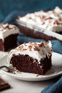 Chocolate Mayonnaise Cake with Frosting Recipe