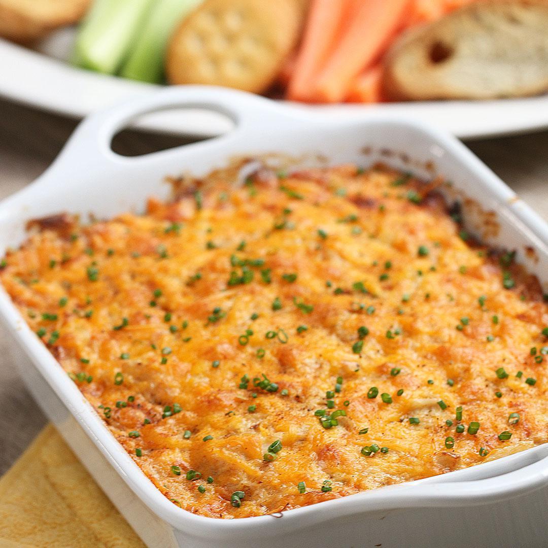 Irresistibly Hot Crab Dip Recipe