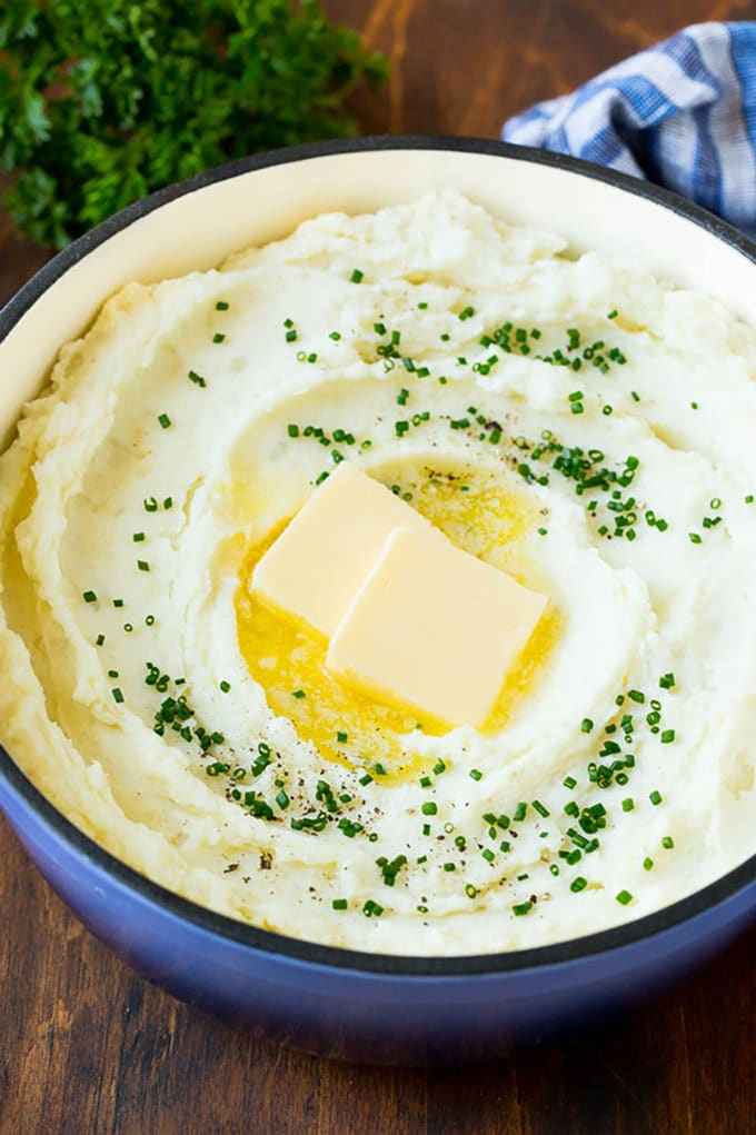 Cream Cheese Mashed Potatoes Recipe