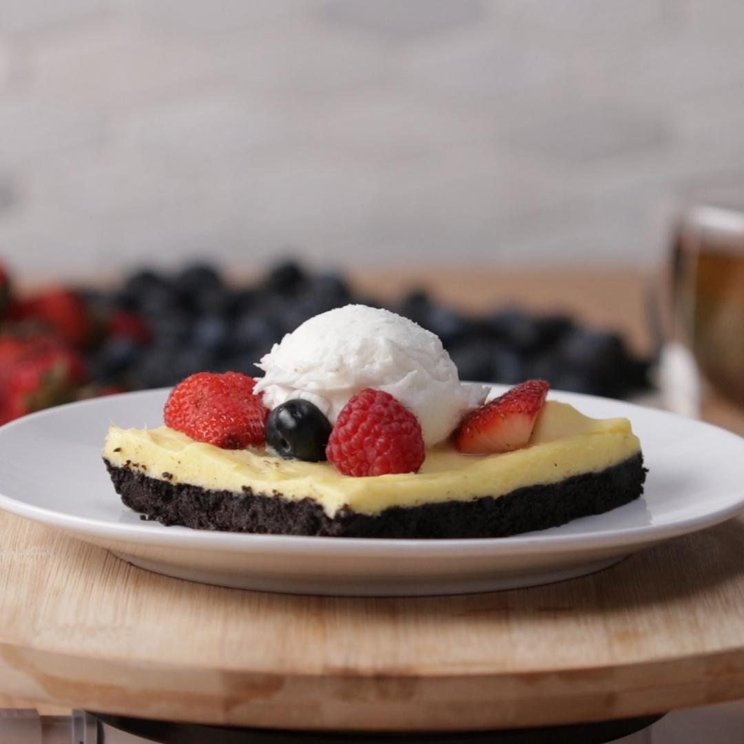 Berry Vanilla Pie Bar Recipe