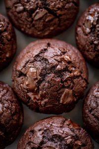 Double Chocolate Chunk Muffins Recipe