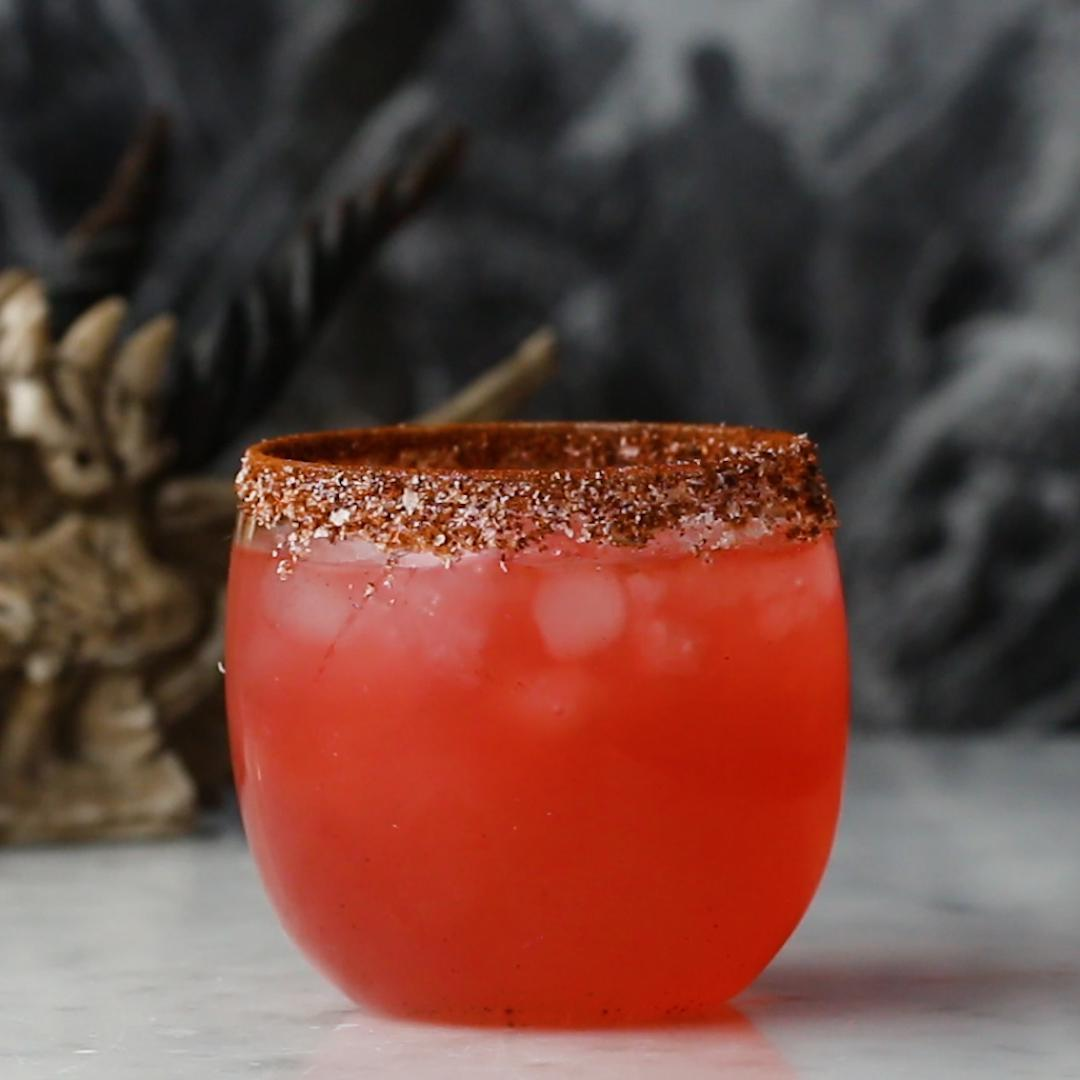 Mezcal Jalapeno Fiery Dragon Cocktail Recipe